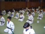 礼に始まり礼に終わるのは武道の基本。